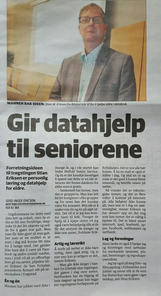 På trykk i Smaalenene mandag 14.9.2015