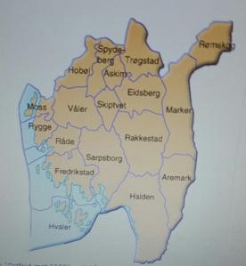 Dagens kommunestruktur. Den vil se annerledes ut i 2020