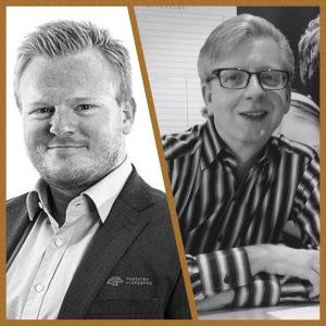 Stian & Stian - teamet bak kurset i Fetsund (filial-sjef Stian Skageng og daglig leder i IOSS, Stian M. Eriksen)
